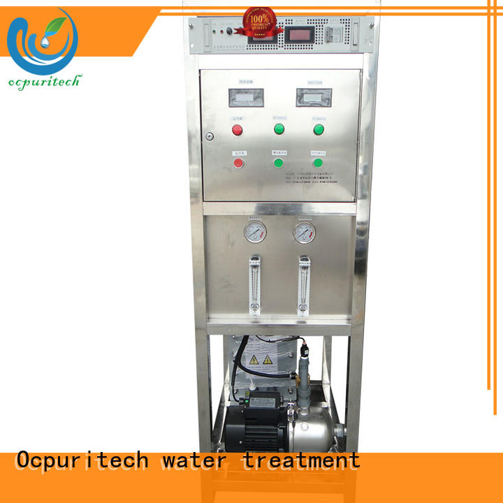 edi water system purification electrical electrodeionization Ocpuritech Brand