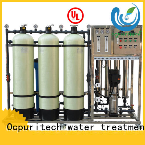Ocpuritech stable mineral water plant personalized for seawater