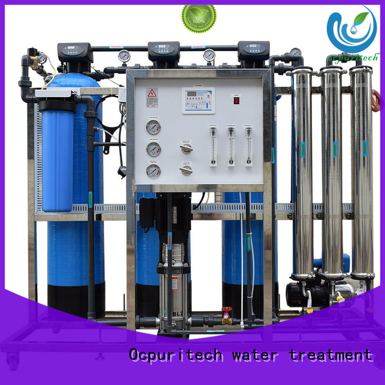 750lph reverse osmosis water purification supplier Ocpuritech
