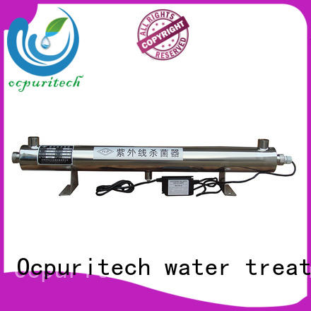 Ocpuritech reliable ultraviolet water sterilizer uv for chemical industry