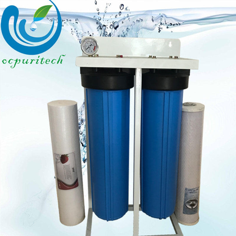 Ocpuritech-20 Inch 2-stage Jumboo Blue Housing Pretreatment | Water Filtration System-1