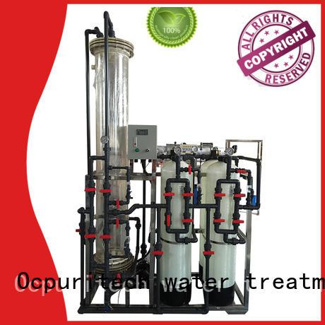chemistry deionized water system treatment reverse dionization Ocpuritech company