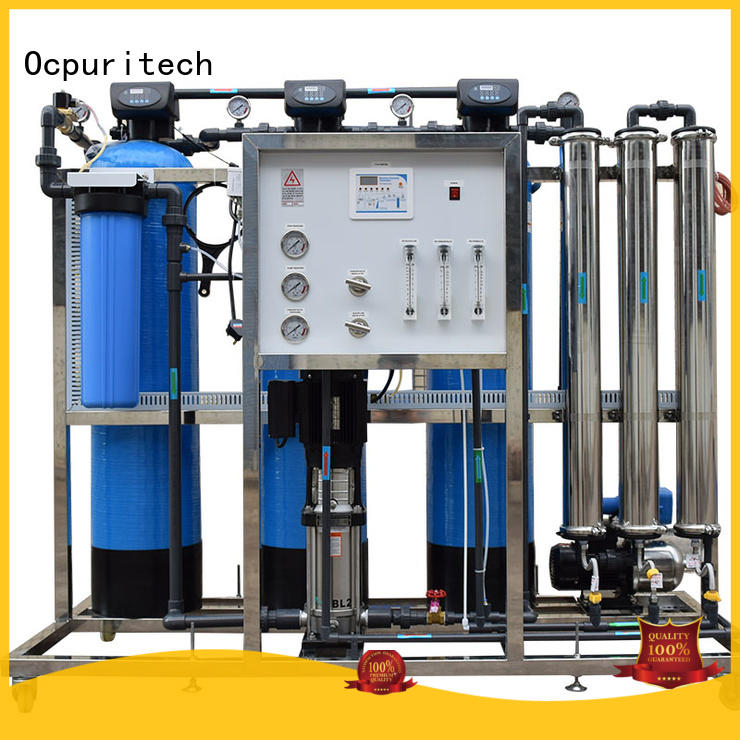 Ocpuritech reliable ro water system supplier for agriculture