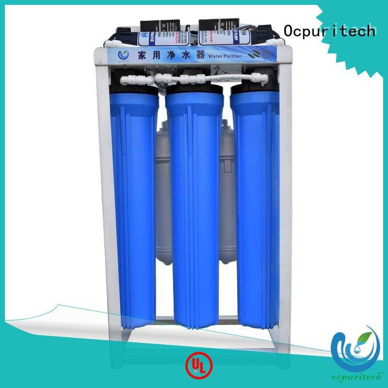 Ocpuritech quality commercial reverse osmosis system for seawater