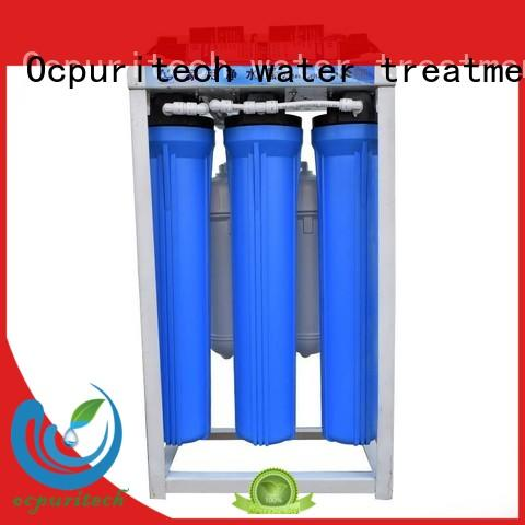 Ocpuritech Brand treatment remove impurities commercial reverse osmosis system plant supplier