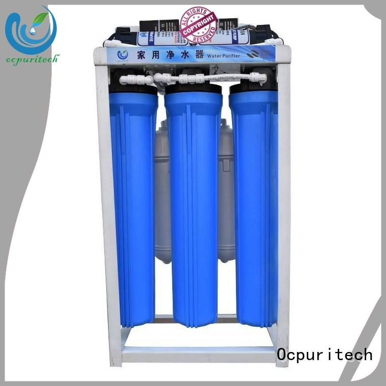 Ocpuritech 400gpd commercial water purifier factory price for seawater