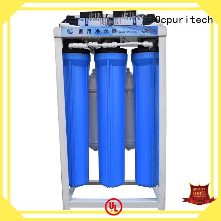 stages commercial reverse osmosis supplier for seawater Ocpuritech