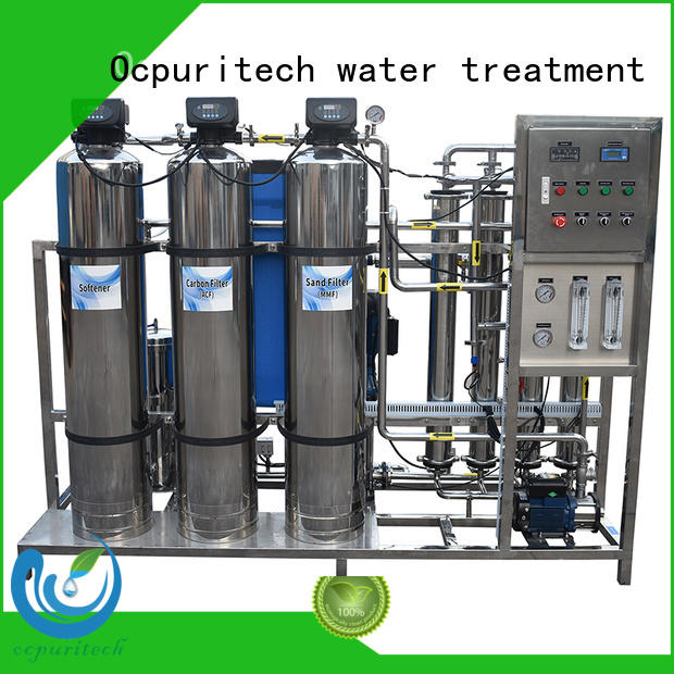 Ocpuritech industrial ro plant suppliers wholesale for food industry
