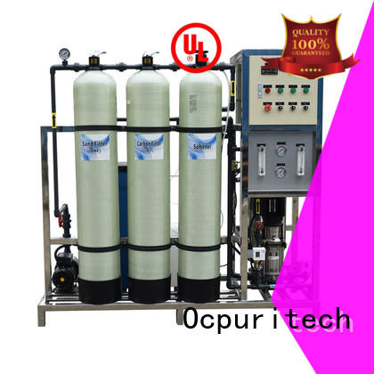 Ocpuritech stable industrial ro water plant personalized for food industry