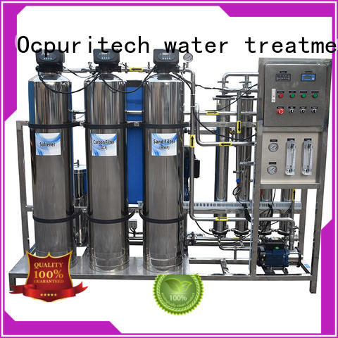 Ocpuritech reverse osmosis system cost supplier for seawater