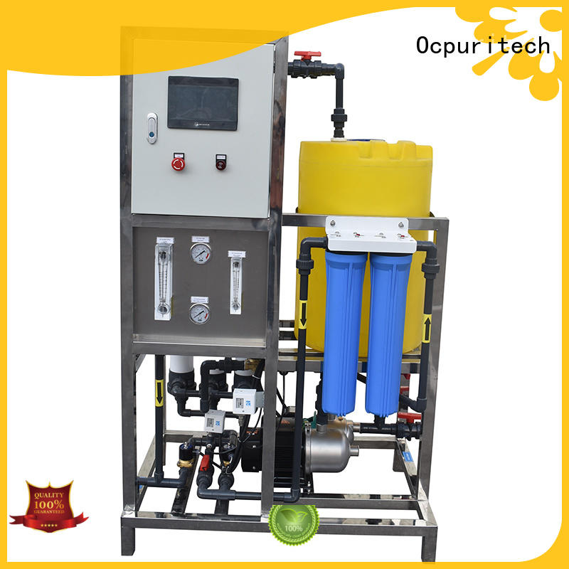 Ocpuritech ro plant supplier from China for chemical industry