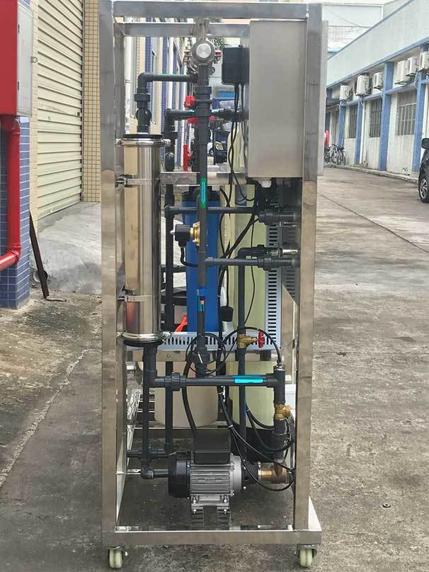 800 GPD industrial ro reverse osmosis system mineral water plant