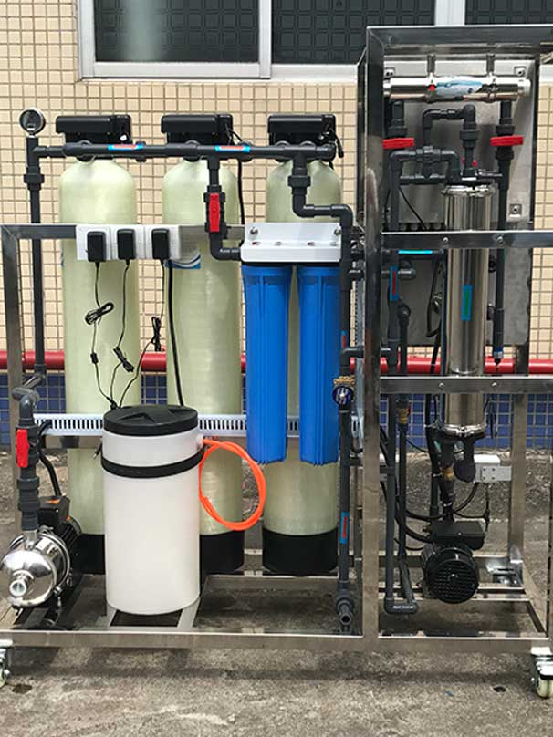 Ocpuritech-800 GPD industrial ro reverse osmosis system mineral water plant