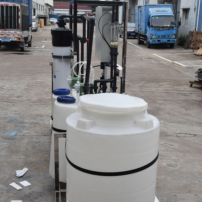 3TPH industrial water treatment UF ultrafiltration system