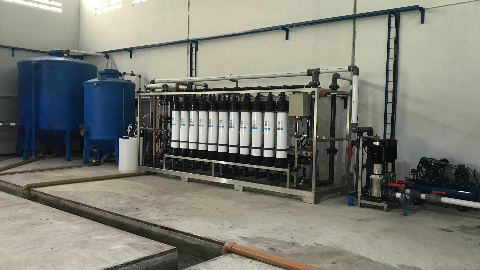 Ocpuritech-Shrimp Farm Recycling Water Treatment Project Case | Project-3