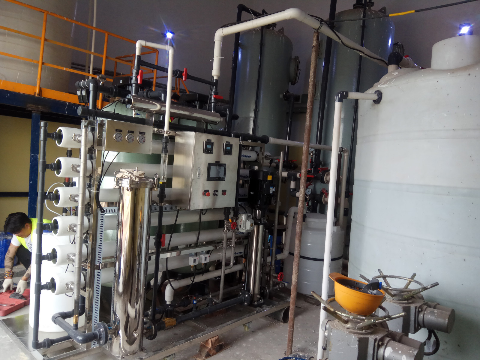 Ocpuritech-High-quality Deionized Water System | 2000liter Per Hour Ro System For-1