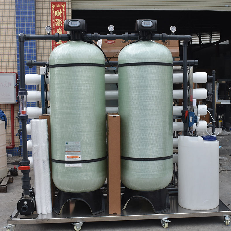 3000LPH 18000 GPD  industrial Reverse Osmosis RO membrane water purification methods-5