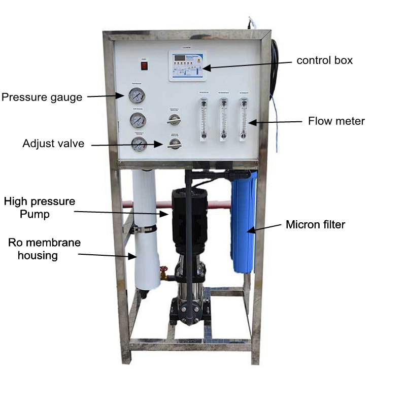 Ocpuritech-About 250lph Industrial Water Reverse Osmosis System Ro Plant