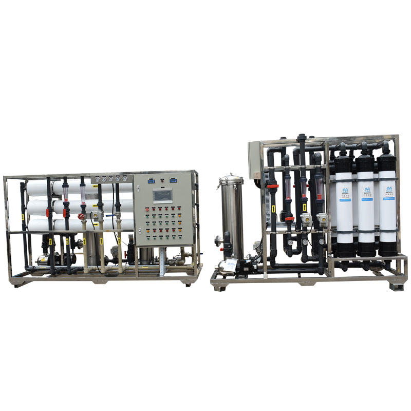 6TPH industrial water treatment UF ultrafiltration and RO system