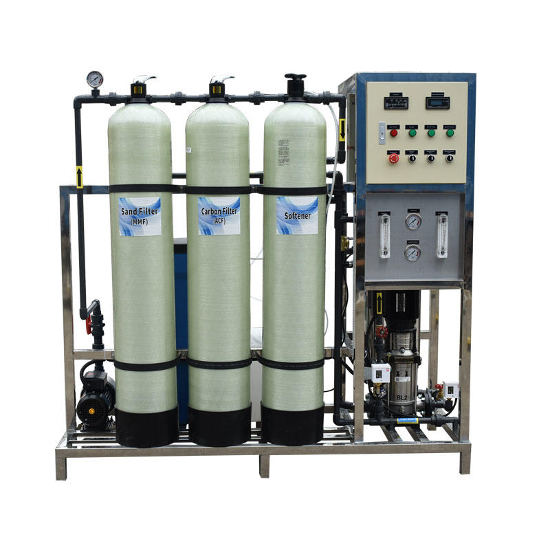 500LPH industrial manual RO reverse osmosis plant