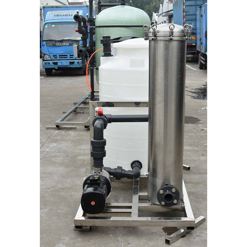 Ocpuritech-6TPH industrial water treatment UF ultrafiltration and RO system-1
