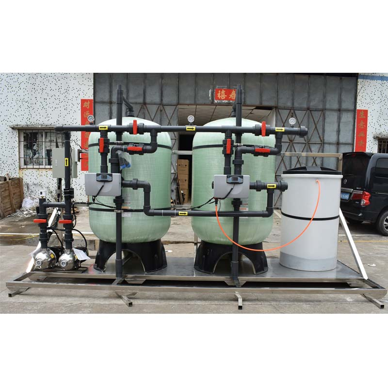 Ocpuritech-6TPH industrial water treatment UF ultrafiltration and RO system