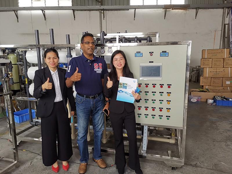 Ocpuritech water treatment plant suppliers manufacturer for factory