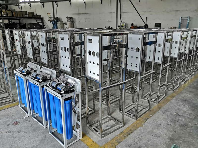 Ocpuritech 4000lph reverse osmosis water filtration system for factory
