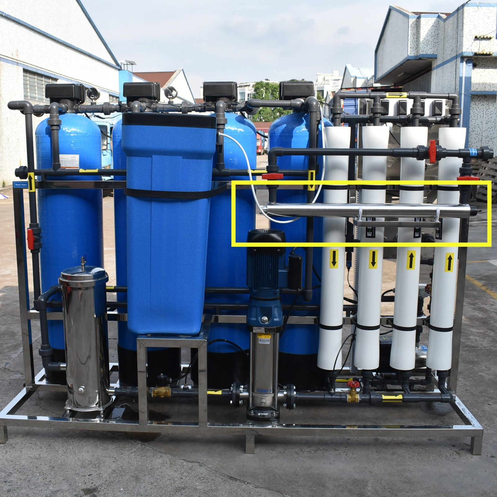 Ocpuritech water treatment plant manufacturers directly sale for chemical industry-5