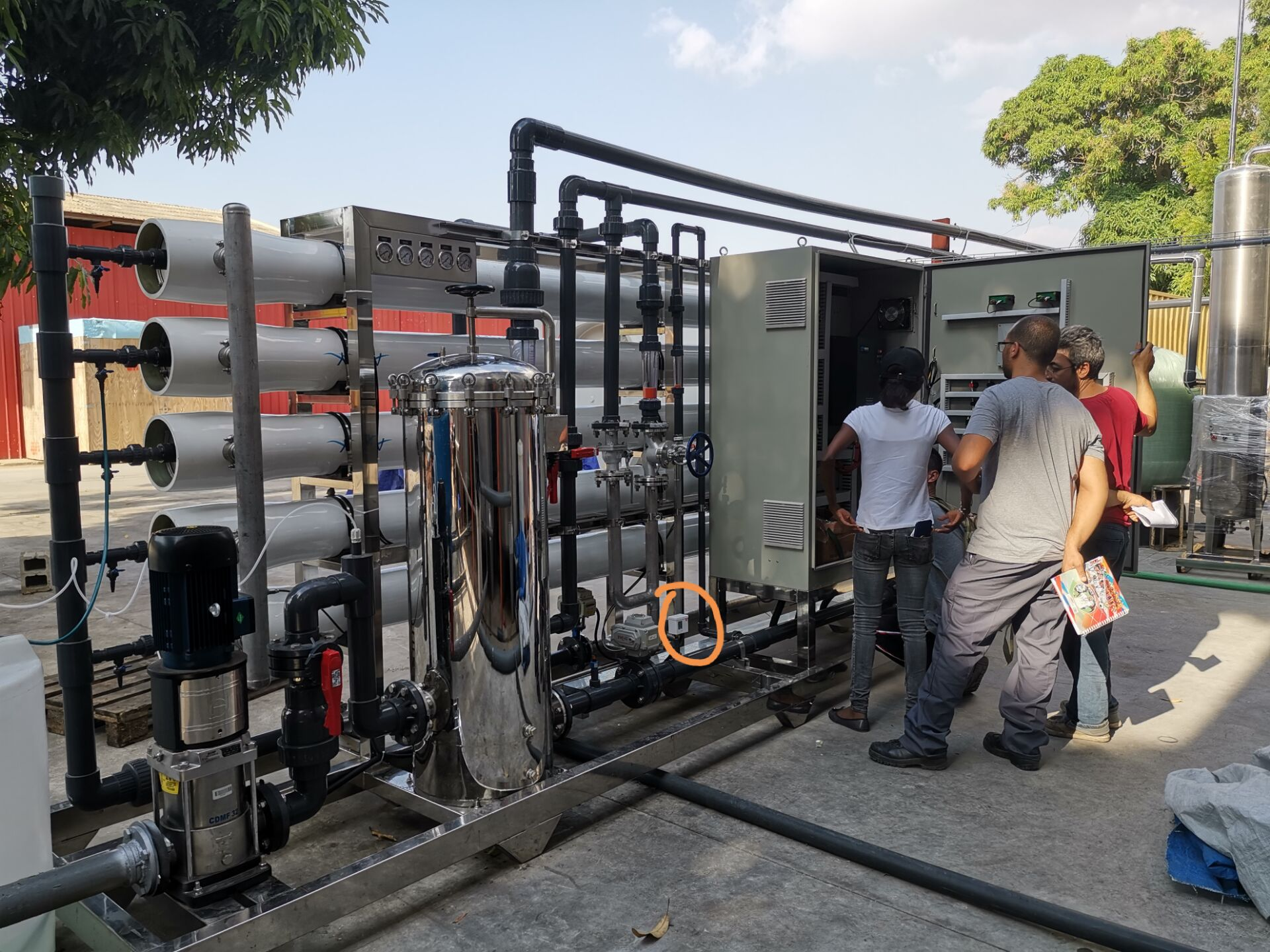 video-20 TPH Water Treatment Project in Angola-Ocpuritech-img-2