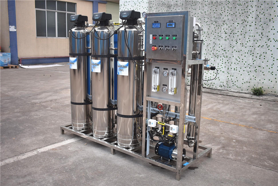 1000 Liter Per Hour Stainless Steel Reverse Osmosis Equipment