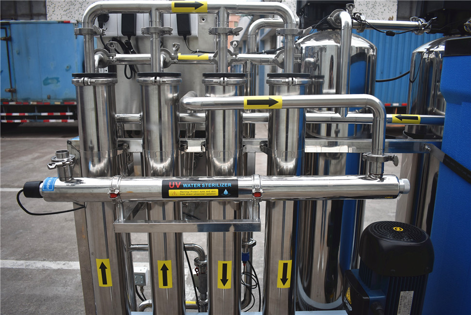 Ocpuritech 2000lph water treatment plant manufacturers from China for chemical industry-7