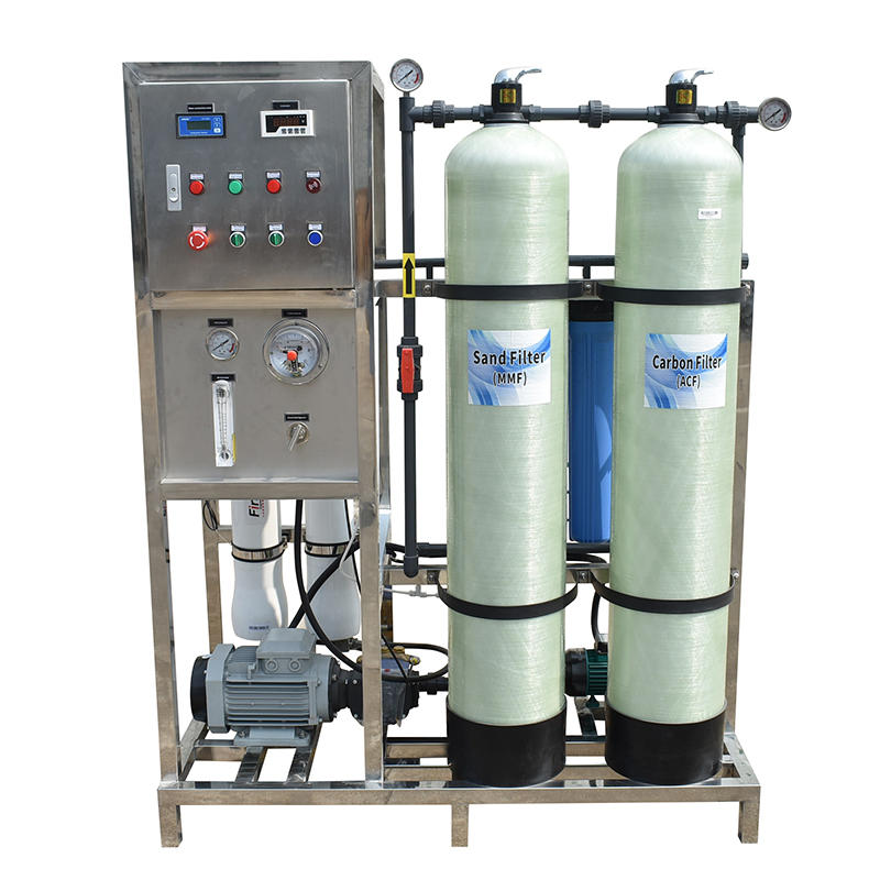 250LPH Industrial Water Treatment Sea Water Desalination Machine