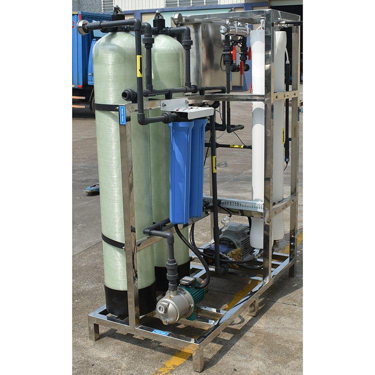 250LPH Industrial Water Treatment Sea Water Desalination Machine