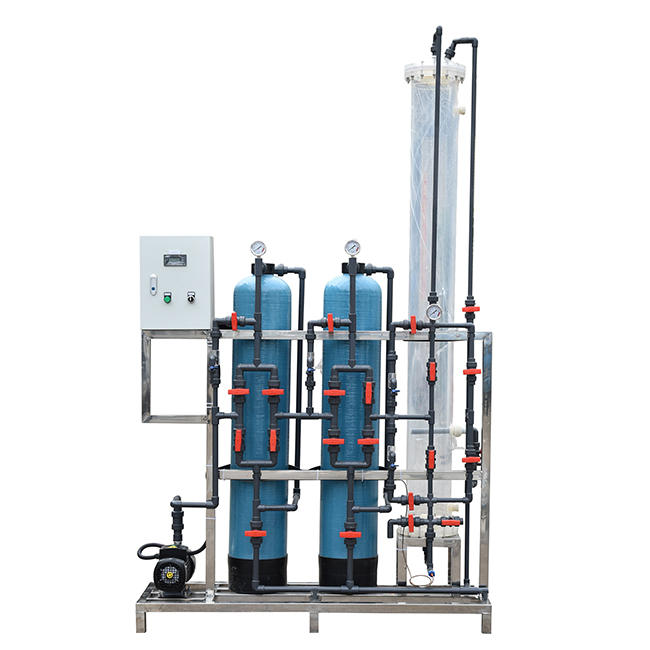 Water treatment Mixed bed deionized water system ion pure