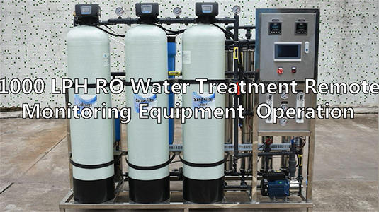 1000 LPH RO Water Treatment Remote Monitoring Equipment