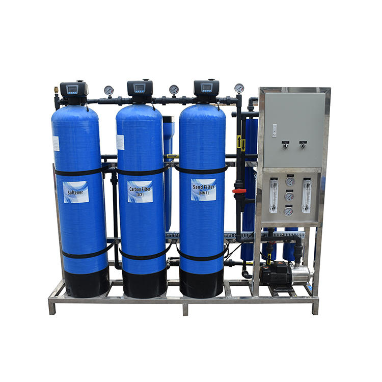 750 LPH Solar Power Brackish Water Desalination Water Treatment Purification Borehole Project Powered Ro Plants Reverse Osmosis Systems Units