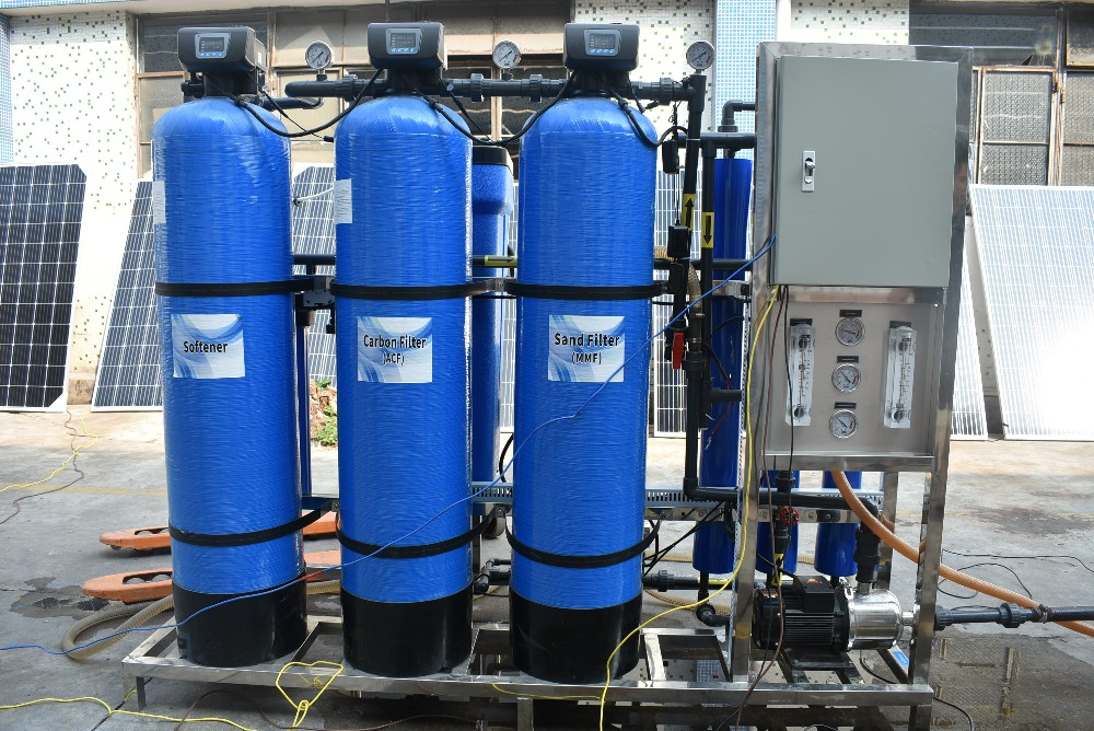 product-Ocpuritech-300LPH Solar Power Brackish Water Desalination Water Treatment Purification Boreh