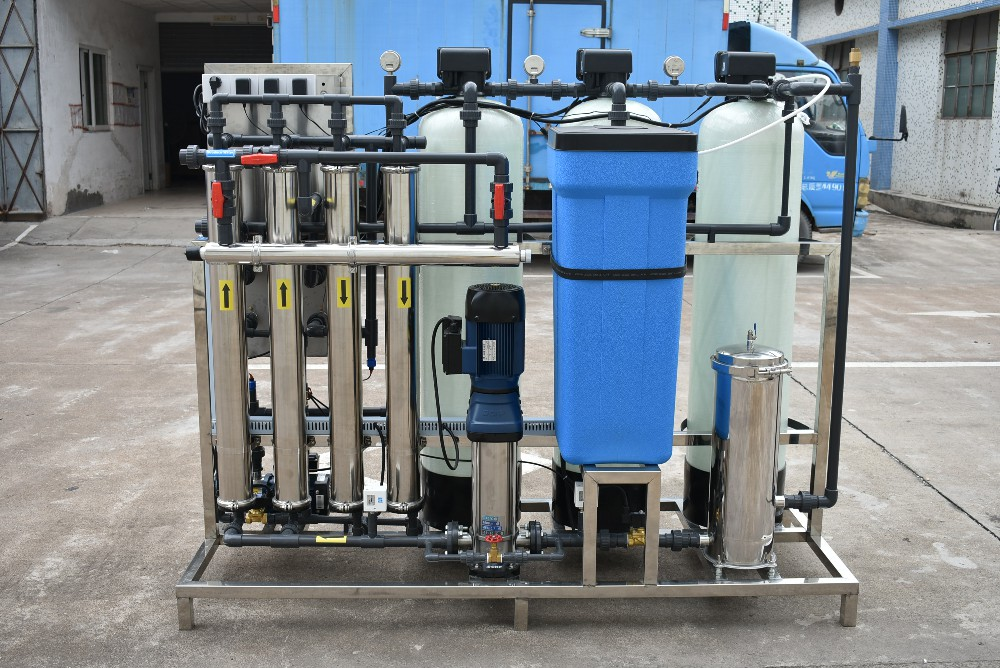 product-1000lph Remote Control Ro Monitoring Water Treatment Online Purification Plant Filtration Re