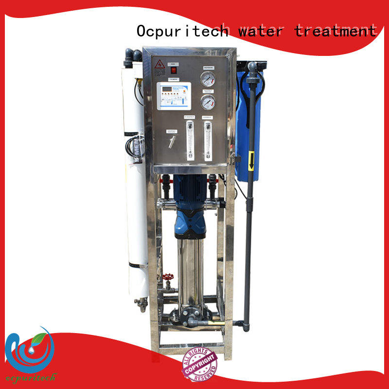 Ocpuritech latest pure water treatment plant directly sale for chemical industry