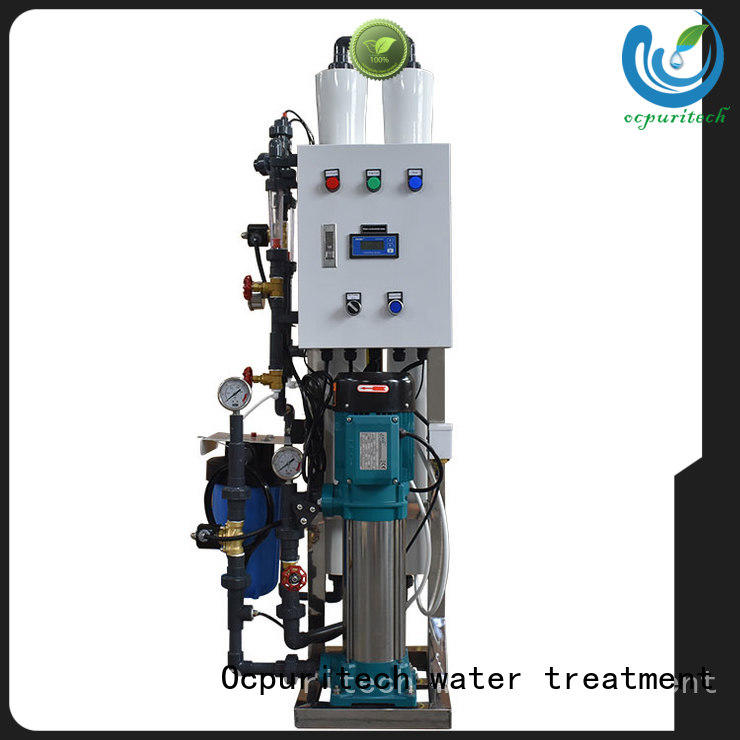 Ocpuritech industrial ro system wholesale for seawater