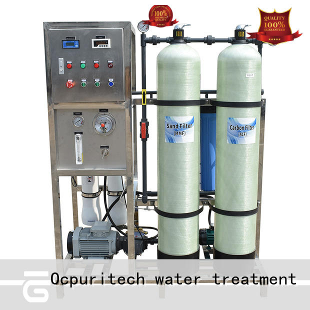 Ocpuritech 500lph water purification systems manufacturer series for factory