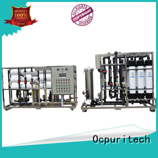 Ocpuritech stable ultrafiltration water system supply for food industry