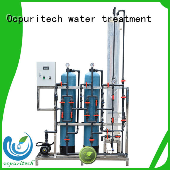 Ocpuritech efficient water treatment system companies series for factory