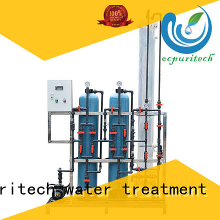 Ocpuritech industrial water softener manufacturer directly sale for factory