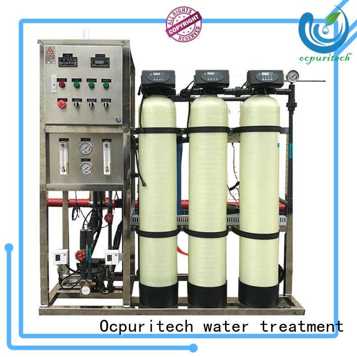 Ocpuritech 3000lph ro machine wholesale for seawater