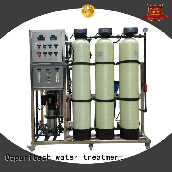 Ocpuritech industrial reverse osmosis plant personalized for food industry