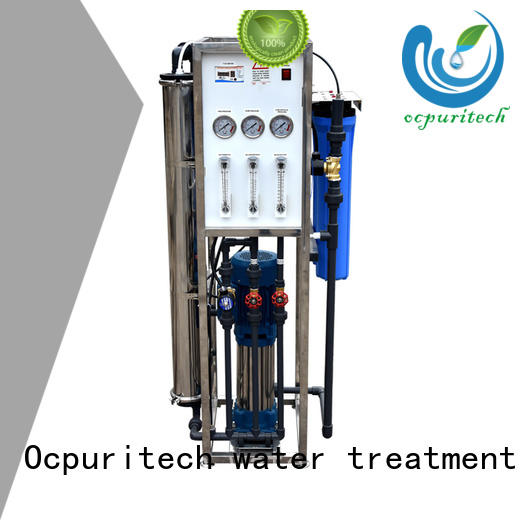 Ocpuritech industrial reverse osmosis water purification for food industry