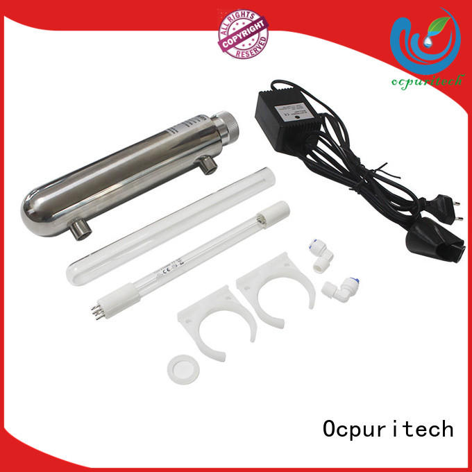 Ocpuritech uv water purifier accessories customized for chemical industry
