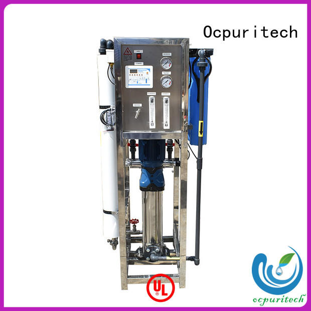 4000lph water treatment plant company from China for chemical industry
